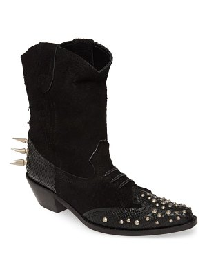 Junya Watanabe spiked ankle cowboy boots