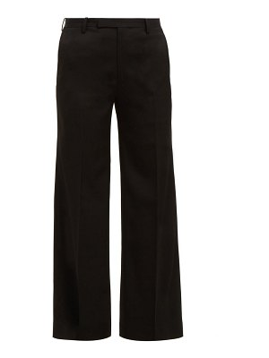 Junya Watanabe wool twill straight leg trousers