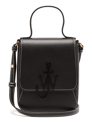 J.W.ANDERSON anchor-logo leather mini bag