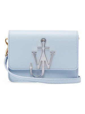 J.W.ANDERSON anchor logo mini leather cross body bag