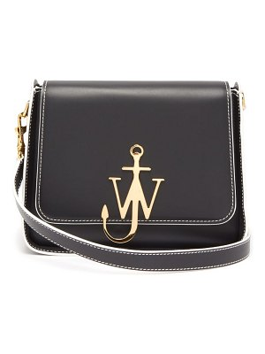 J.W.ANDERSON anchor logo plaque leather cross body bag