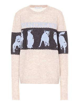 J.W.ANDERSON animal intarsia wool-blend sweater