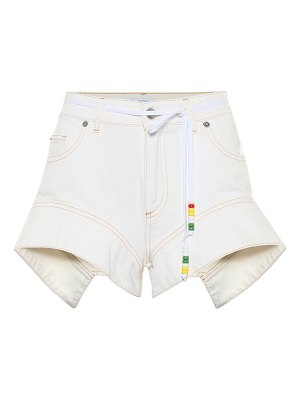 J.W.ANDERSON belted denim shorts