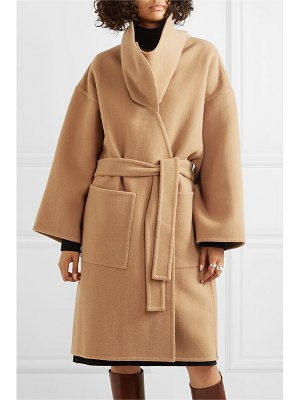 J.W.ANDERSON belted wool and cashmere-blend coat