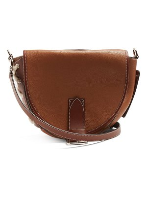J.W.ANDERSON bike leather saddle cross body bag