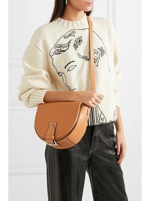 J.W.ANDERSON bike small smooth and textured-leather shoulder bag