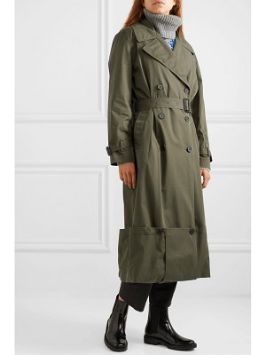 J.W.ANDERSON button-detailed cotton-twill trench coat