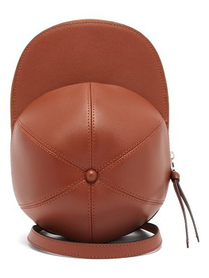 J.W.ANDERSON cap leather cross-body bag