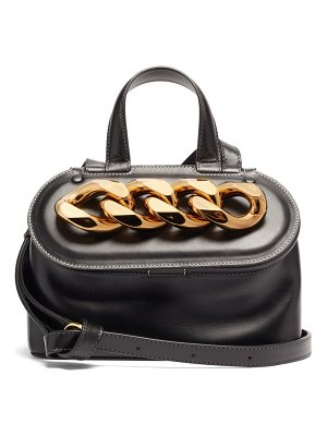 J.W.ANDERSON chain small leather cross-body bag