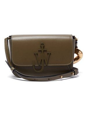 J.W.ANDERSON anchor small chain-strap leather cross-body bag