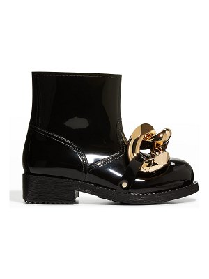 J.W.ANDERSON Chunky Chain Rubber Short Boots