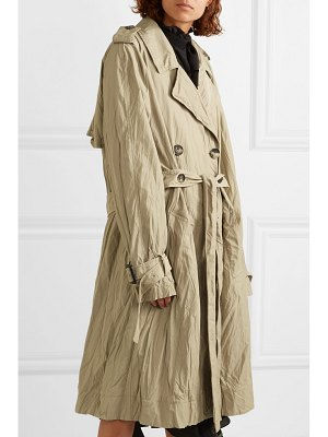 J.W.ANDERSON crinkled-twill trench coat