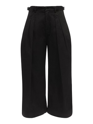 J.W.ANDERSON Cropped canvas pants