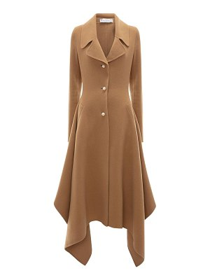 J.W.ANDERSON Draped wool knee length coat