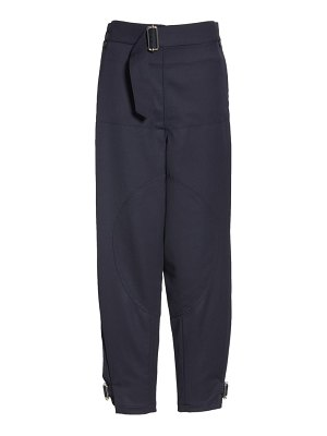 J.W.ANDERSON fold front utility pants