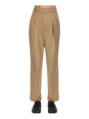 J.W.ANDERSON High waist belted pants