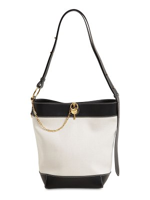 J.W.ANDERSON Keyts canvas & leather tote