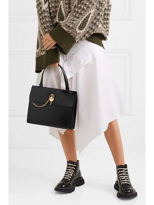 J.W.ANDERSON keyts glossed-leather tote