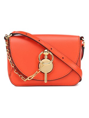 J.W.ANDERSON keyts nano leather shoulder bag