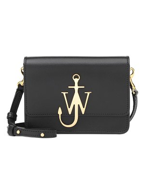 J.W.ANDERSON logo leather shoulder bag