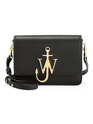 J.W.ANDERSON mini logo leather shoulder bag