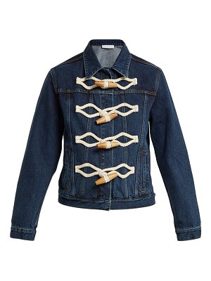 J.W.ANDERSON Oversized-toggle denim jacket
