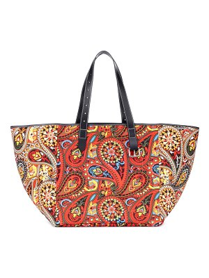 J.W.ANDERSON printed leather-trimmed tote