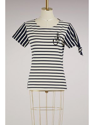 J.W.ANDERSON Striped knot T-shirt