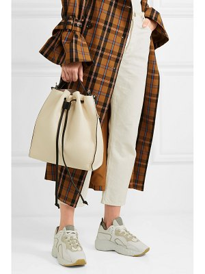 J.W.ANDERSON textured-leather bucket bag