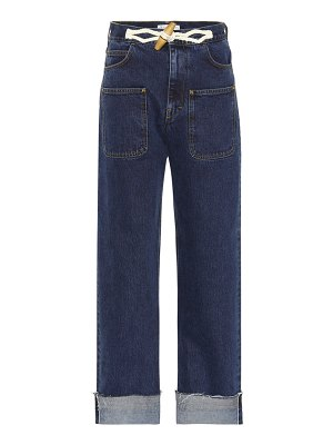 J.W.ANDERSON exclusive to mytheresa – toggle wide-leg jeans