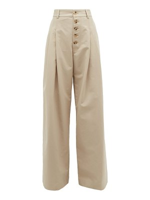 J.W.ANDERSON wide leg cotton trousers