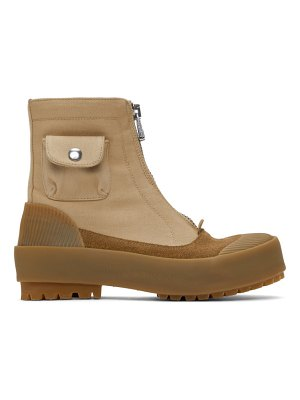 J.W.ANDERSON zippered duck boots