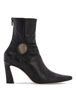 Kalda 80mm leather ankle boots