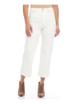 Karen Kane brooklyn high waist crop jeans