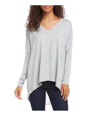 Karen Kane button back v-neck top