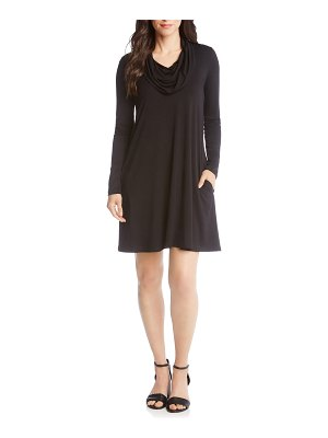 Karen Kane chloe cowl neck swing dress