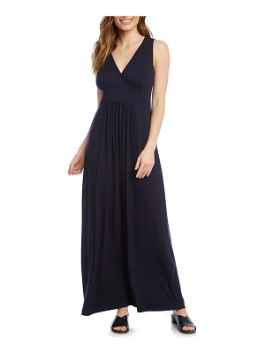 Karen Kane jersey knit maxi dress
