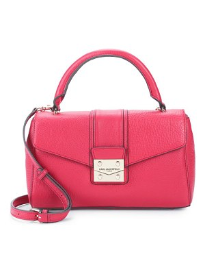Karl Lagerfeld Paris Ali Leather Satchel