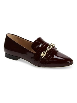Karl Lagerfeld Paris nikki buckle patent leather loafer