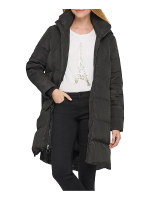 Karl Lagerfeld Paris wedge puffer coat