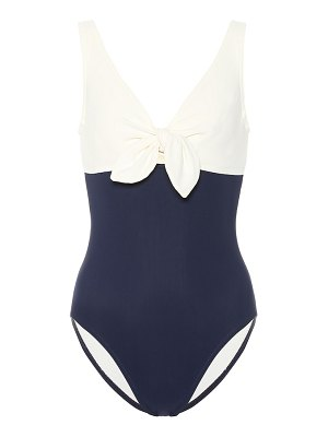 Karla Colletto grace v-neck swimsuit