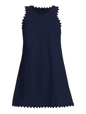Karla Colletto ines scalloped a-line dress
