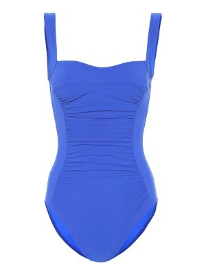 Karla Colletto Ruched one-piece swimsuit