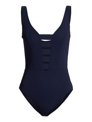 Karla Colletto seraphina v-neck one-piece swimsuit