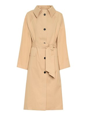 Kassl Editions cotton-blend trench coat