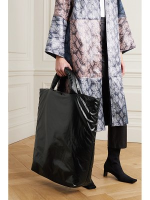 Kassl Editions extra large padded shell tote