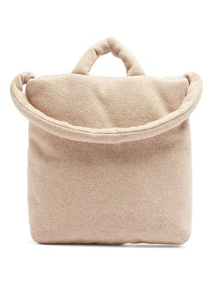 Kassl Editions felted medium wool-blend tote bag