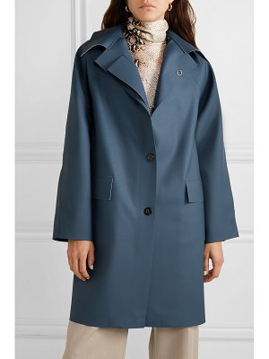 Kassl Editions matte-pu coat