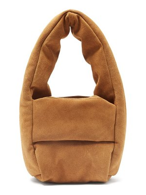 Kassl Editions monk small padded suede bag