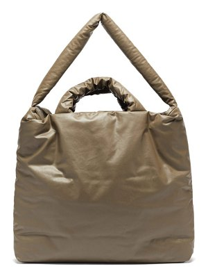 Kassl Editions oil large padded cotton-blend canvas tote bag